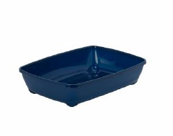 Moderna - Cat Litter Box - Large - Blueberry