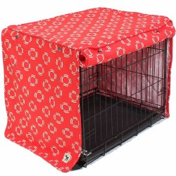 Molly Mutt - Crate Cover - Lady in Red - Small