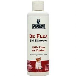 Natural Chemistry - DeFlea - Shampoo for Cats - 8 oz