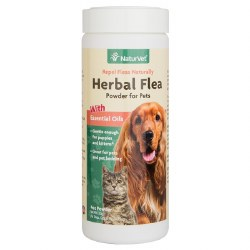 NaturVet Flea and Tick Powder - 4 oz