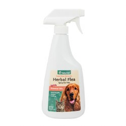 NaturVet Herbal Flea Spray - 16 oz