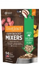 Instinct Raw Boost Mixers - Grass Fed Lamb Recipe - Freeze Dried Dog Food - 0.9 oz