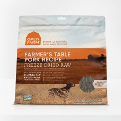 Open Farm - Farmer's Table Pork Recipe - Freeze Dried Dog Food - 13.5 oz