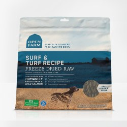 Open Farm - Surf & Turf - Freeze Dried Dog Food - 13.5 oz