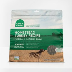 Open Farm - Homestead Turkey - Freeze Dried Dog Food - 13.5 oz