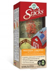 Oxbow Harvest Stacks - Western Timothy with Carrot - 35 oz