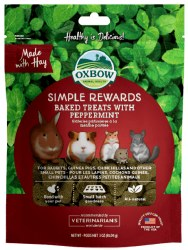 Oxbow Simple Rewards - Baked Treats with Peppermint - 2 oz
