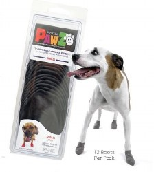 Pawz Dog Boots - Black - Small