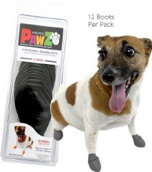 Pawz Dog Boots - Black - Extra Small