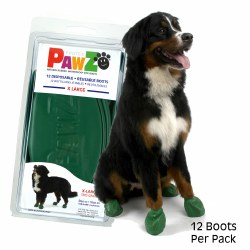 Pawz Dog Boots - Green - Extra Large