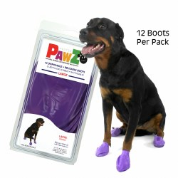 Pawz Dog Boots - Purple - Large