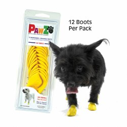 Pawz Dog Boots - Yellow - Extra Extra Small
