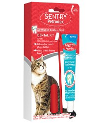 Sentry Petrodex - Dental Care Kit for Cats - Malt