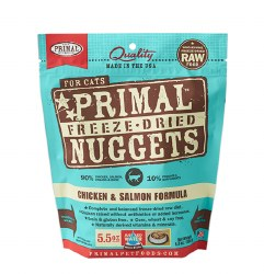 Primal - Chicken and Salmon Formula - Freeze Dried Cat Food - 5.5 oz