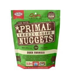 Primal - Duck Formula - Freeze Dried Cat Food - 5.5 oz