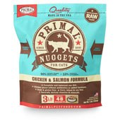 IN STORE AND CURB-SIDE PICK UP ONLY - Primal - Chicken and Salmon Formula - Raw Cat Food - 3 lb