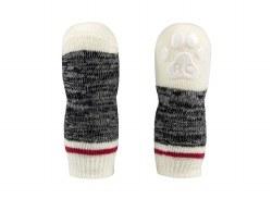 RC Pets - PAWks Dog Socks - Black Melange - Medium