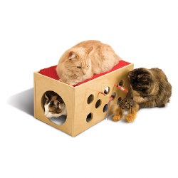 Smart Cat - Cat Furniture - Bootsie Bunk Bed and Play