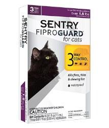 Sentry Fiproguard - Cat - 3 months