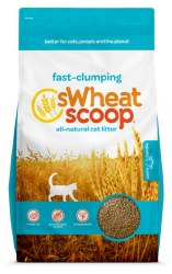 sWheat Scoop - Fast Clumping Cat Litter - 25 lb