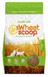 sWheat Scoop - Multi-Cat Cat Litter - 25 lb