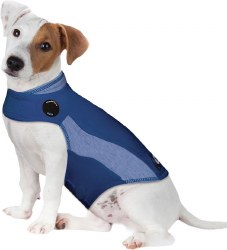 ThunderWorks - ThunderShirt Anxiety Jacket - Blue Polo - Medium
