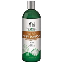 Vet's Best Anti-Flea Spray Shampoo - 16 oz