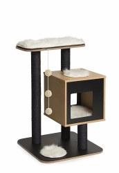 Vesper - Cat Furniture - V-Base - Black
