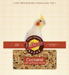 Volkman - Avian Science - Cockatiel Food with Sunflower Seeds - 4 lb