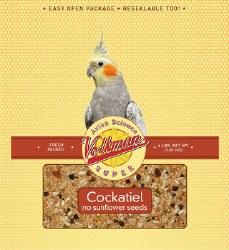 Volkman - Avian Science - Cockatiel Food - No Sunflower Seeds - 4 lb