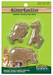 Ware - Small Animal Treats - Critter Crackers - Safari