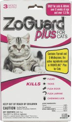 Zoguard Plus - Cat - 3 month