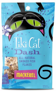 Tiki Cat - Dash - Cat Treats - Mackerel - 2 oz