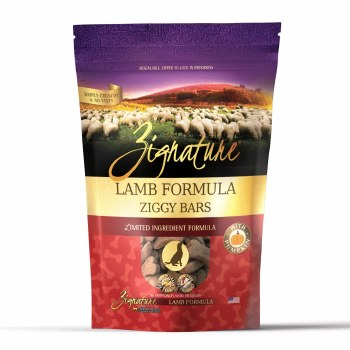 Zignature - Ziggy Bars - Lamb Formula - Crunchy Dog Treats - 12 oz