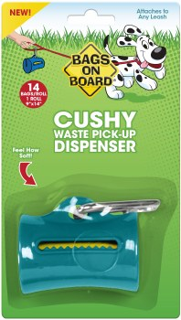 Bags on Board - Poop Bag Dispenser - Cushy - Teal