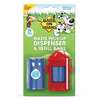 Bags on Board - Poop Bag Dispenser - Hydrant