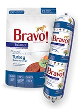 IN STORE AND CURB-SIDE PICK UP ONLY - Bravo - Balance Turkey Patties - Raw Dog Food - 3 lb