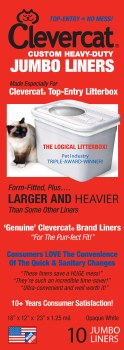 Clevercat - Jumbo Liners - 10 count