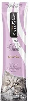 Fussie Cat - Tuna with Chicken Puree - Cat Treat - 4 pack