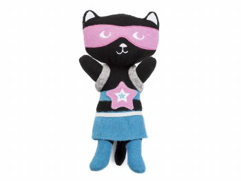 Jax & Bones - Dog Toy - Rowdy Rescuers - Kicky the Cat