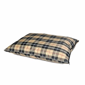 K&H - Indoor/Outdoor Single Seam Bed - Tan Plaid - Large