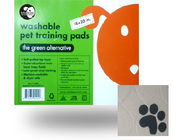 Lola Bean Washable Training Pads - 24x24 - 2 pack