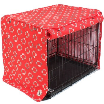 Molly Mutt - Crate Cover - Lady in Red - Huge