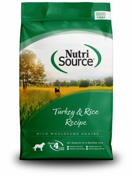 NutriSource - Turkey & Rice Formula - Dry Dog Food - 30 lb