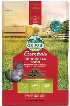 Oxbow Essentials - Chinchilla Food - 3 lb