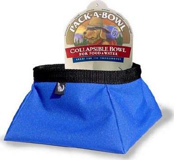 Color Pet - Pack-A-Bowl - 1 Liter - Black