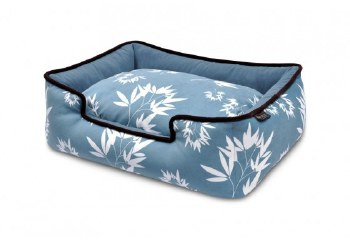 PLAY - Bamboo Lounge Bed - Ocean Blue - Large