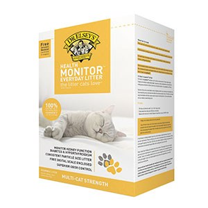 Dr. Elsey's - Precious Cat Health Monitor Clay Litter - 20lb