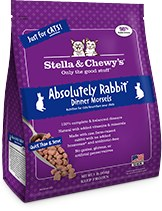 IN STORE PICK UP ONLY - Stella & Chewy's - Absolutely Rabbit Dinner Morsels - Raw Cat Food - 1 lb