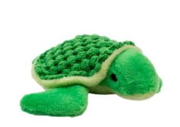 "Tall Tails - Plush Turtle - Dog Plush Toy - 5"""